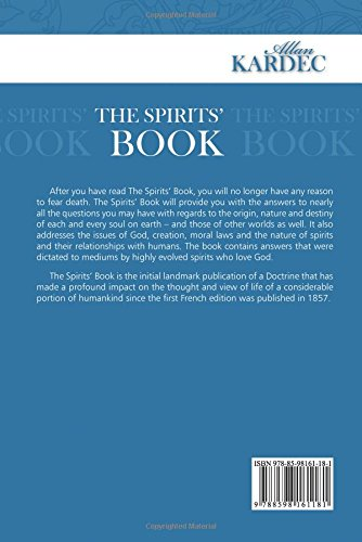 The Spirits Book - Back